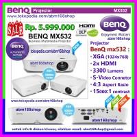 Projector BenQ mx532 XGA HDMI 3300Lm GaransiResmi DLP Proyektor mx-532