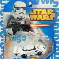 Hot Wheels Star Wars Characters Stormtrooper putih Hotwheels Diecast