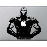 Decal Sticker Macbook - Iron Man (Katze Decal)