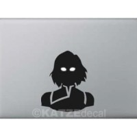 Decal Sticker Macbook - Korra Short Hair (Katze Decal)