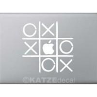 Decal Sticker Macbook - Tic Tac Toe (Katze Decal)