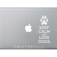 #Skin Laptop Decal Sticker Macbook - Love Dogs (Katze Decal)