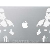 #Skin Laptop Decal Sticker Macbook - Storm Trooper (Katze Decal)