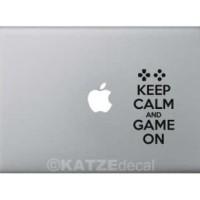 (Sale) Decal Sticker Macbook - Game On (Katze Decal)