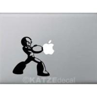 (Skin Laptop) Decal Sticker Macbook - Mega Man (Katze Decal)
