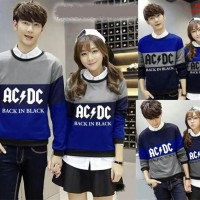 BAJU COUPLE LP BLUE ACDC