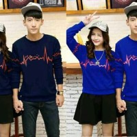 BAJU COUPLE LP LOVE ZIGZAG