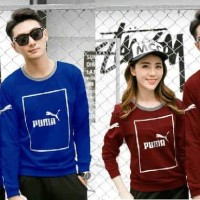 BAJU COUPLE LP PUMA KOTAK