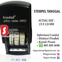 Trodat 4810 Stempel Tanggal Otomatis / Dater Otomatis / Stempel Trodat