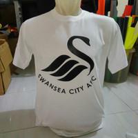 Tshirt / Baju / Kaos /T shirt cotton SwanSea