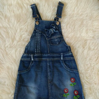 Overall Rok Havika Cute Overall Anak Import Real Pict