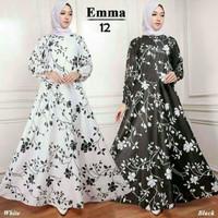 Gamis Katun Bangkok Emma 12 | Baju pakaian dress busana muslim syari