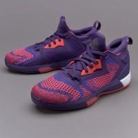 Sepatu basket  adidas Damian Lillard 2 All Star Primeknit ungu Q16510