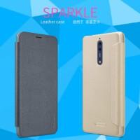 Nillkin Flip Case (Sparkle Leather Case) - Nokia 8