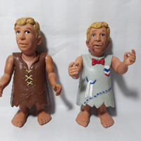 UCS Amblin Barney Rubble Flintstone Doll Rare Langka Mirip George Bush