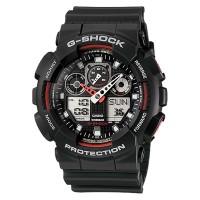 Casio G-Shock GA-100-1A4DR Standard Analog-Digital Resin Band