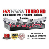 PAKET CCTV HIKVISION 2MP 16 CH + HDD 2TB + 8 CAMERA FULL HD KOMPLIT
