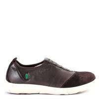 Sepatu Kickers Slip On Casual Leather 2715 Original - Dark Brown
