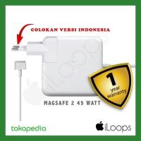 ORIGINAL Adaptor Macbook air 11 13 Charger Magsafe 2 45W 45Watt 45 W