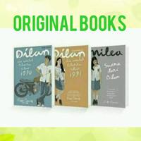 Novel Dilan 1, Dilan 2, Milea (Paket Lengkap Ekslusif)