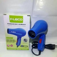 Mini Travel Hair Dryer Fleco 258/ Hairdryer/ Pengering Rambut Lipat