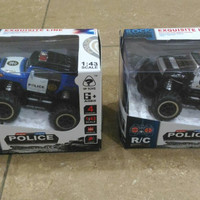 MAINAN MOBIL-MOBILAN JEEP R/C POLICE REMOTE CONTROL MURAH