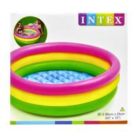 Kolam renang anak sunset glow pool Intex 58924 uk 86x25cm