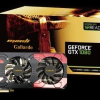 Manli GTX 1080 Gallardo 8GB DDR5X 256 BIT Triple Fan