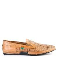 Sepatu Kickers Slip On Casual Leather 2723 Original - Tan