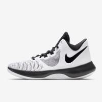 Sepatu Basket Nike Air Precision 2 White Original AA7069-100