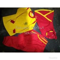 Kaos Olahraga + Celana + Kerudung SD / MI / TK / RA / KB / PAUD