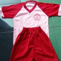 Kaos Olahraga + Celana SD / MI / TK / RA / KB / PAUD
