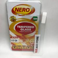 TEMPERED GLASS / ANTI GORES KACA LG Q6 NERO