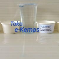 Gelas Kertas / Papercup es krim / Paper Cup Ice Cream 2 Oz Polos