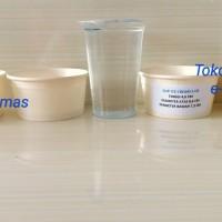 Gelas Kertas / Papercup es krim / Paper Cup Ice Cream 5 Oz Polos