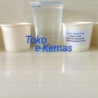 Gelas Kertas / Papercup es krim / Paper Cup Ice Cream 4 Oz Polos