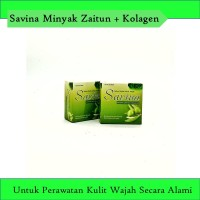 [ORIGINAL] Savina Minyak Zaitun + Kolagen - Sabun Wajah Terbaikk