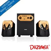 Dazumba DW266 Bluetooth Speaker 2.1 - Gold