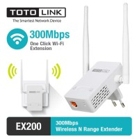 Totolink EX200 300Mbps Wireless N Range Extender Penguat WIFI
