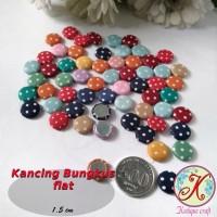 Kancing Bungkus Flat 1,5cm Mix per pack