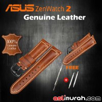 Asus ZenWatch 2 Genuine Leather Strap - Light Brown