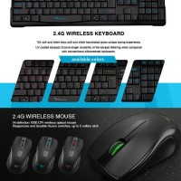 Keyboard Mouse Wireless Alcatroz Explorer 1000