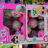 mainan cewek anak perempuan lol surprise baby doll telur kejutan egg
