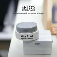 ertos why acne night treatment [krim malam acne ertos]