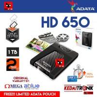 Harddisk External ADATA HD650 1TB ANTI SHOCK Hard Drive Proof HDD 650