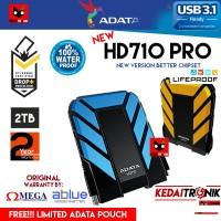 Harddisk External ADATA NEW HD710 PRO 2TB SHOCK WATER PROOF Hard Drive