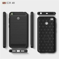 EXECUTIVE CARBON Casing Softcase Ipaky Carbon Xiaomi Redmi 4X Case