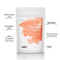 HERBILOGY - Fenugreek (Biji Klabet) Extract Powder 100gr ASI Booster