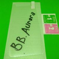 Tempered glass blackberry Aurora bb anti gores kaca screen guard