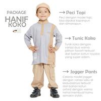 Setelan Koko Anak Uwais & Hanif by Bunayya size 6 bln - 4 thn